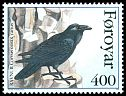 Cl: Common Raven (Corvus corax varius) <<Ravnur>> (Repeat for this country)  SG 277 (1995) 125
