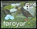 Cl: European Starling (Sturnus vulgaris)(Repeat for this country)  SG 554h (2007)  [4/29]