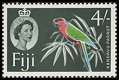 Cl: Red Shining-Parrot (Prosopeia tabuensis) SG 308 (1959) 175 [3/9]