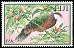Cl: Metallic Pigeon (Columba vitiensis)(Repeat for this country)  SG 1127 (2001)