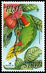 Cl: Red-throated Lorikeet (Charmosyna amabilis)(Endemic or near-endemic)  SG 1202 (2003)