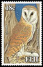Cl: Barn Owl (Tyto alba) <<Lulu>> (Repeat for this country)  SG 1303 (2006)  [5/18]