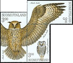 Cl: Eurasian Eagle-Owl (Bubo bubo)(Repeat for this country)  SG 1530ab (1998) 375