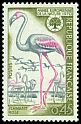 Cl: Greater Flamingo (Phoenicopterus roseus) <<Flamant rose>>  SG 1871 (1970) 40