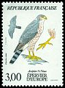 Cl: Eurasian Sparrowhawk (Accipiter nisus) <<Epervier d'europe>>  SG 2645 (1984) 140 [3/17]