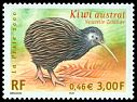 Cl: Southern Brown Kiwi (Apteryx australis) <<Kiwi austral>> (Out of range)  SG 3692 (2000) 140