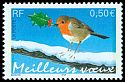 Cl: European Robin (Erithacus rubecula)(Repeat for this country)  SG 3930 (2003) 375