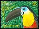 Cl: Channel-billed Toucan (Ramphastos vitellinus) <<Toucan ariel>>  SG 3887 (2003) 140