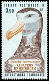 Cl: Wandering Albatross (Diomedea exulans amsterdamensis) <<Albatros d'Amsterdam>> (Repeat for this country)  SG 199 (1985) 425