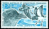 Cl: Grey-backed Storm-Petrel (Garrodia nereis) <<Petrel tempete>>  SG 362 (1997) 60