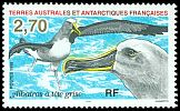 Cl: Grey-headed Albatross (Thalassarche chrysostoma) <<Albatros a tete grise>>  SG 382 (1998) 60