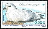 French Southern and Antarctic Territory <<Petrel des neiges>> SG 615e (2009)