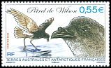 Cl: Wilson's Storm-Petrel (Oceanites oceanicus) <<Petrel de Wilson>> (Repeat for this country)  SG 615b (2009)  [6/7]