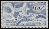 Cl: Great Egret (Ardea alba) SG 55 (1947) 1000 [3/14]