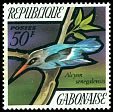 Cl: Woodland Kingfisher (Halcyon senegalensis) SG 434 (1971) 300