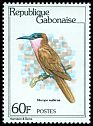 Cl: Southern Carmine Bee-eater (Merops nubicoides) SG 741 (1980) 210