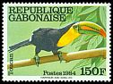 Cl: Keel-billed Toucan (Ramphastos sulfuratus)(Out of range)  SG 911 (1984) 220