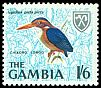 Cl: African Pygmy-Kingfisher (Ispidina picta) <<Chikoro longo>> (Repeat for this country)  SG 241 (1966) 40