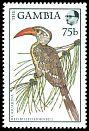 Cl: Red-billed Hornbill (Tockus erythrorhynchus) SG 762 (1988) 125