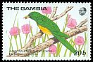 Cl: African Emerald Cuckoo (Chrysococcyx cupreus)(Repeat for this country)  SG 868 (1989) 90