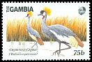 Cl: Grey Crowned-Crane (Balearica regulorum)(Out of range)  SG 870 (1989) 140