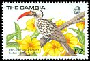 Cl: Red-billed Hornbill (Tockus erythrorhynchus)(Repeat for this country)  SG 872 (1989) 225
