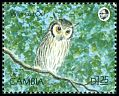 Cl: Northern White-faced Owl (Ptilopsis leucotis) SG 1012 (1990) 80