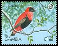 Cl: Orange Bishop (Euplectes franciscanus) SG 1016 (1990) 80
