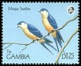Cl: Mosque Swallow (Cecropis senegalensis) SG 1019 (1990) 80