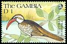 Cl: Red-billed Hornbill (Tockus erythrorhynchus)(Repeat for this country)  SG 1116 (1991) 60