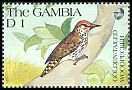 Cl: Golden-tailed Woodpecker (Campethera abingoni) SG 1120 (1991) 60