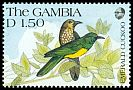 Cl: African Emerald Cuckoo (Chrysococcyx cupreus)(Repeat for this country)  SG 1126 (1991) 60