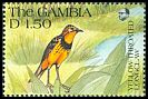 Cl: Yellow-throated Longclaw (Macronyx croceus) SG 1135 (1991) 60