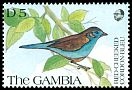 Cl: Red-cheeked Cordonbleu (Uraeginthus bengalus)(Repeat for this country)  SG 1140 (1991) 100