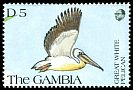 Cl: Great White Pelican (Pelecanus onocrotalus)(Repeat for this country)  SG 1142 (1991) 100