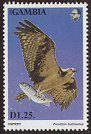 Cl: Osprey (Pandion haliaetus)(Repeat for this country)  SG 1500 (1993) 160