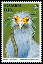 Cl: Secretarybird (Sagittarius serpentarius)(Repeat for this country)  SG 1506 (1993) 300