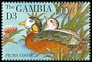 Cl: African Pygmy-goose (Nettapus auritus)(Repeat for this country)  SG 1975 (1995) 80