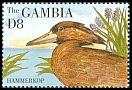 Cl: Hamerkop (Scopus umbretta)(Repeat for this country)  SG 1981 (1995) 200