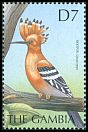 Cl: Eurasian Hoopoe (Upupa epops)(Repeat for this country)  SG 3746 (2000) 200