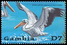 Cl: Great White Pelican (Pelecanus onocrotalus)(Repeat for this country)  SG 4152e (2001) 200