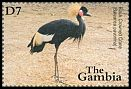 Cl: Black Crowned-Crane (Balearica pavonina)(Repeat for this country)  SG 4163 (2001) 225