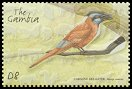 Cl: Northern Carmine Bee-eater (Merops nubicus)(Repeat for this country)  SG 4129d (2001) 200 [5/59]