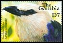 Cl: Blue-bellied Roller (Coracias cyanogaster)(Repeat for this country)  SG 4168 (2001) 225