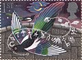 Cl: Eurasian Magpie (Pica pica)(Repeat for this country)  SG 1538 (1991) 160