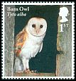 Cl: Barn Owl (Tyto alba)(Repeat for this country)  SG 4082 (2018) 100 [11/41]