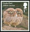 Cl: Little Owl (Athene noctua)(Repeat for this country)  SG 4088 (2018) 100 [11/41]