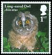 Cl: Northern Long-eared Owl (Asio otus)(Repeat for this country)  SG 4091 (2018) 100 [11/41]