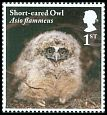 Cl: Short-eared Owl (Asio flammeus)(Repeat for this country)  SG 4090 (2018) 100 [11/41]