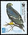 Cl: Greater Spotted Eagle (Aquila clanga)(Repeat for this country)  SG 510 (2007) 150 [4/21]